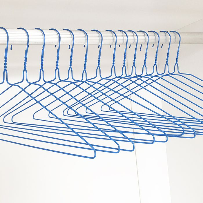 Laundry dry clean wire hanger