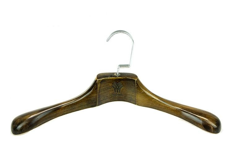 Strong and Durable wooden coat hanger
